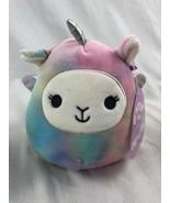 """NEW Kelly Toy Squishmallow TieDye Unicorn Pegasus  5"""" Plush - $11.30"""