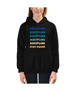 Discipline Stay Home- Kids Hoodie (quarantine/stay home/2020) - $31.50+