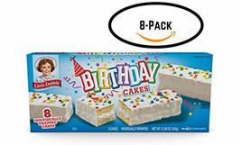 Little Debbie Birthday Cakes (8 boxes) - $35.50