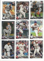 2017 BOWMAN BASE  - STARS, ROOKIE RC'S - #'S 1-100 - WHO DO YOU NEED!!! - $0.99+