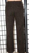 Banana Republic Men's 31 X 32 Brown Khaki Chino Pants Flap Button Pockets Euc - $26.11