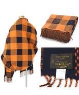 VUITTON LV Damier Masai Lug Stole Scarf Muffler Wool 100% Orange M74797 ... - $2,023.00