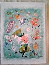 Disney Wonderground Gallery Alice in Wonderland Mad Hatter Art Postcard,... - $11.50