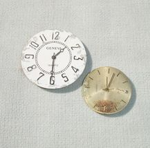 Vintage Watch Dial Face with Movements Parts - Media Craft Supply - $5.50