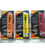 Parker Vector Special Edition CT - Set of 3 Roller Ball Pen - SPORT - Ne... - $34.99