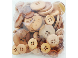 Denami Design Mimi's Boutique Sand Brown Button Mix image 2