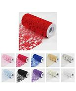 2 Lace Ribbon Roll Arts and Crafts Supplies for Weddings 6 inches x 10 Y... - $37.62
