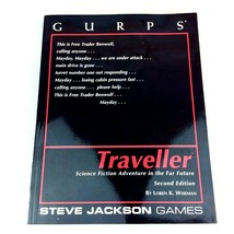 GURPS Traveller RPG Manual 1999 2nd Ed SC Steve Jackson Games RolePlaying - $19.79