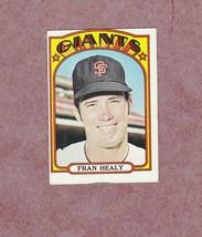 1972 Topps high # 663 Fran Healy San Francisco Giants - $3.99