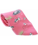 Ducks Unlimited Men's Dress Necktie 100% Silk Novelty Ducks - $10.78