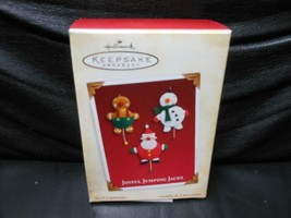 "Hallmark Keepsake ""Joyful Jumping Jacks"" 2005 Ornament NEW with Memory Card - $3.66"
