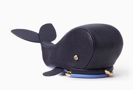 NWT $99 Kate Spade OFF WE GO WHALE coin purse Leather! - ₨5,542.65 INR