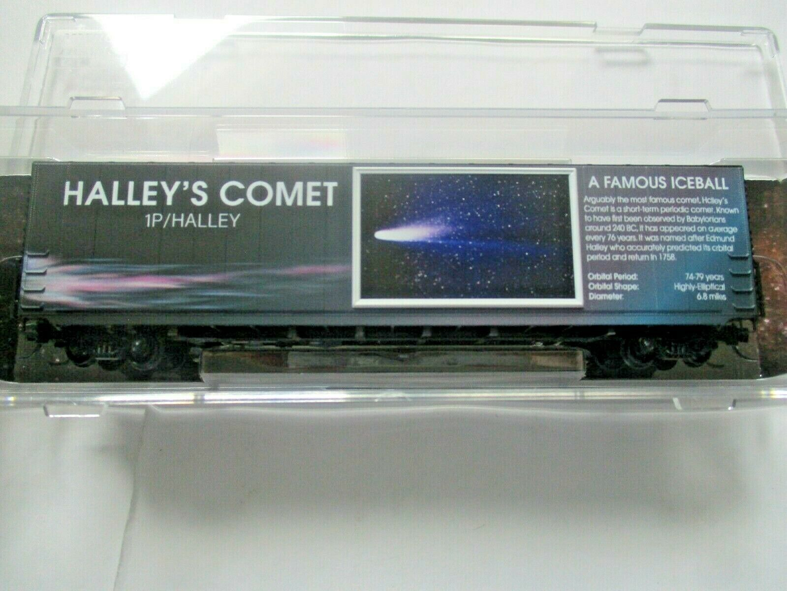 Micro-Trains # 10200842 Halley's Comet 60' Boxcar with Light N-Scale