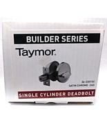 Taymor 36-2201SC Satin Chrome Single Cylinder Deadbolt  - $7.92