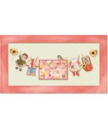 Autumn Baby Girl Sunshine Lane Birth Sampler Chartpack cross stitch Broo... - $18.00