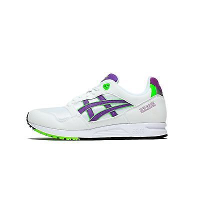 Mens Asics Tiger Gel Saga White Orchid Purple Green 1193A071-100 image 1
