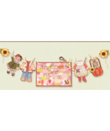 Autumn Baby Girl Sunshine Lane Birth Sampler Chart only cross stitch Bro... - $7.20