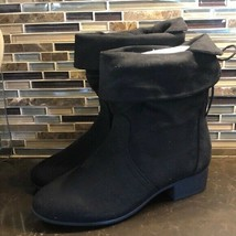 Soda faux suede booties - $38.61