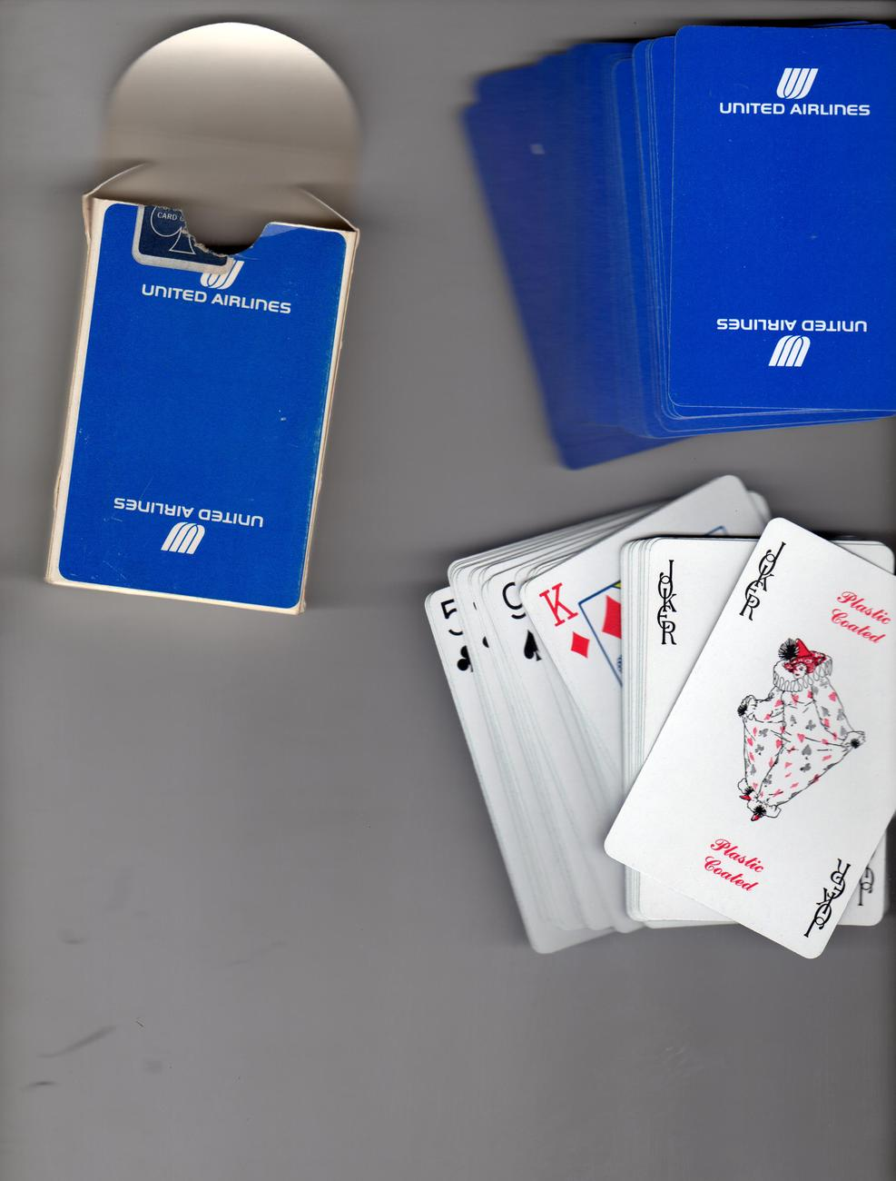 Playing Cards (United Airlines)