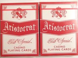 2 Decks Aristocrat Club Special Casino Purple Playing Cards New Sealed U... - $15.96