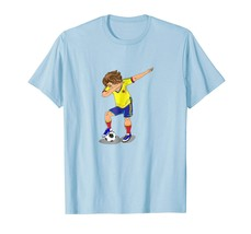 Brother Shirts - Dabbing Soccer Boy Shirt | Colombia Men - $19.95+