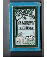 "Gaiety Brand  ""54  NUDE Models"" Color Playing Cards   - $20.00"