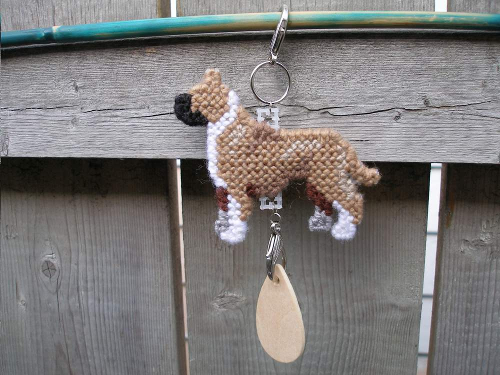 American Staffordshire Terrier dog crate tag or hang anywhere, pit bull pitbull