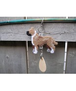 American Staffordshire Terrier dog crate tag or hang anywhere, pit bull ... - $18.00