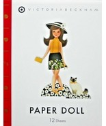 Victoria Beckham for Target Paper Doll Book Pop Out Dolls New Free Shipp... - $24.99
