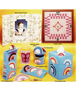 PLASTIC CANVAS NEEDLEPOINT DECOR HOME ACCENTS - $4.50