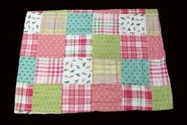 2 Tommy Hilfiger MYRTLE BAY Standard Quilted Patchwork Pillow Sham NIP D... - $1.111,77 MXN