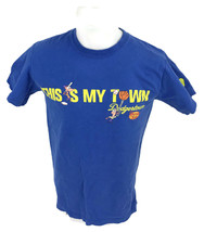 LA Dodgers This Is My Town Dodgerstown Phineas & Ferb DISNEY XD Men's T-... - $11.26