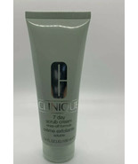 NEW Clinique FULL SIZE (3.4 oz EA) 7 Day Scrub Cream Rinse-Off Formula - $16.82