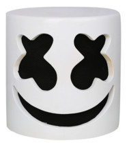 XCOSER Marshmello Helmet Full Head Latex Mask Marshmello Cosplay Mask - $59.24 CAD
