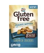 Lance Gluten Free Peanut Butter Sandwich Crackers, 8 Count of 1 Oz. Bags - $17.56