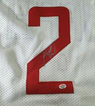 KAWHI LEONARD / NBA FINALS MVP / AUTOGRAPHED L. A. CLIPPERS CUSTOM JERSEY / COA image 3