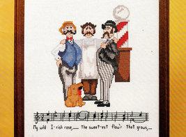 Cross Stitch Jessa Counts SING-A-LONGS Barber Shop Quartet - $4.95
