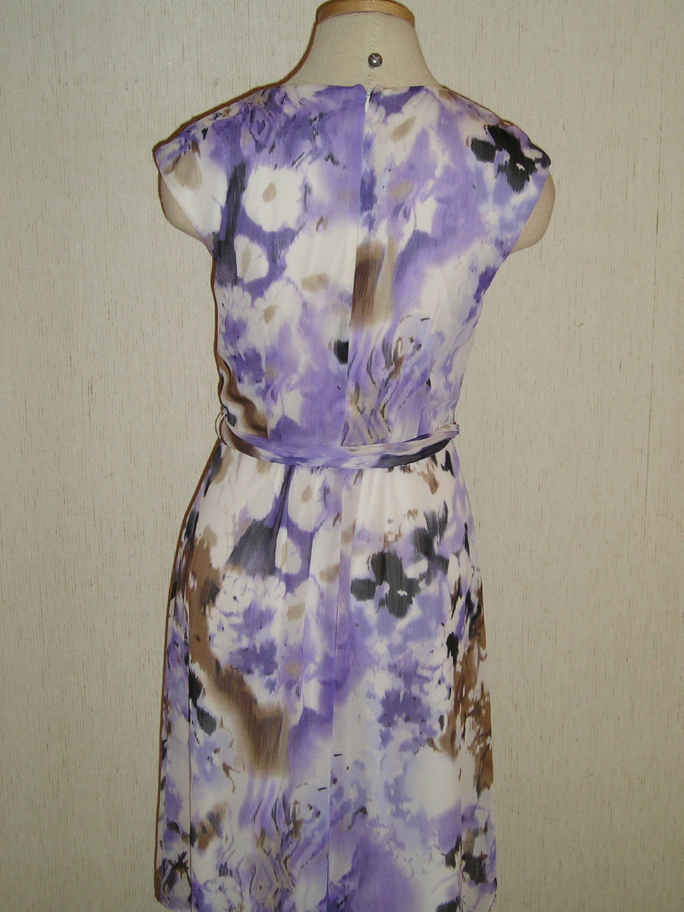 NEW CONNECTED sz 10  Washable Work Cocktail Tea Floral DRESS NWT FREE US SHIP