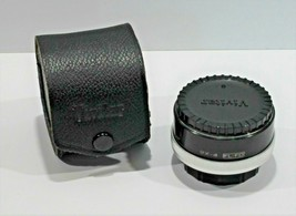 VIVITAR automatic Tele converter 2x - 4 lens for CANON FL - FD mount with Case - $13.49