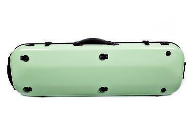 Tonareli Violin Oblong Fiberglass Case- Lime 4/4 VNFO 1003