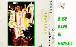 CROSS STITCH BUSY DAYS & SWEET NIGHTS RAMONA ODOM - $2.95