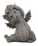 Ebros Whimsical Garden Dragon Morning Yoga Stretch Statue Cute Baby Drag... - $37.61