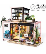 Rolife Miniature Dollhouse Wooden DIY Dollhouse Kit Kevin's Studio - $40.15