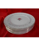 Beautiful  ROYAL SWIRL Fine China ...Set of 6 BREAD-SALAD-DESSERT Plates... - $19.39