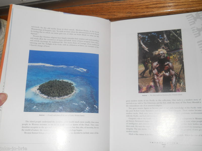 Pacifica Myth Magic and Traditional Wisdom from the South Sea Islands Book DJ