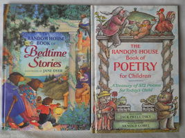 Set of 2 Color RANDOM HOUSE Book of Poetry 572 poems Bedtime Stories Chi... - $29.95