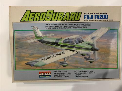Arii Series 1 1:72 scale Aero Subaru Fuji FA200 Model New In box - $33.94