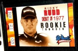 NASCAR Trading Cards - Ricky Rudd AA19-NC8083