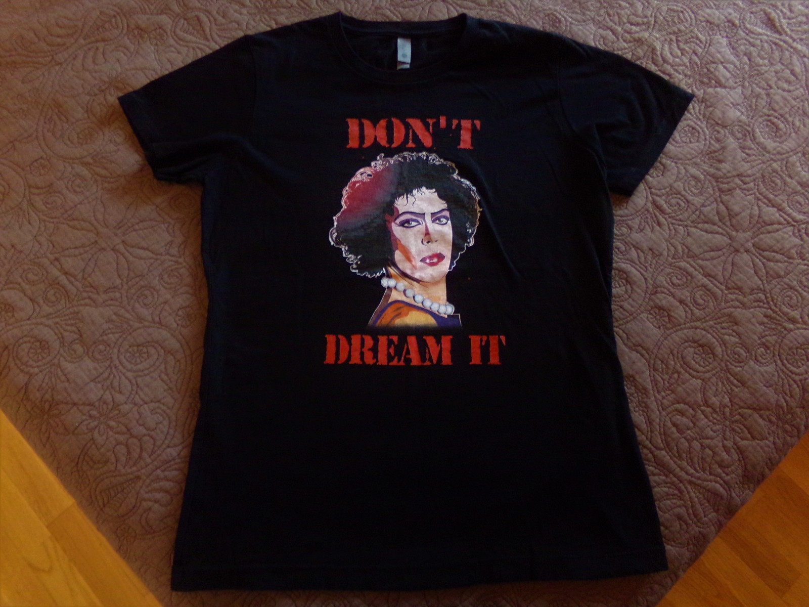 Rocky Horror, Don't Dream It Be It, MINT CONDITION, Womens Large T-Shirt