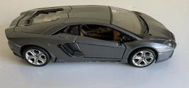 LAMBORGHINI AVENTADOR LP700-4 gray1/24 DIECAST CAR MODEL BY MAISTO  - $14.84